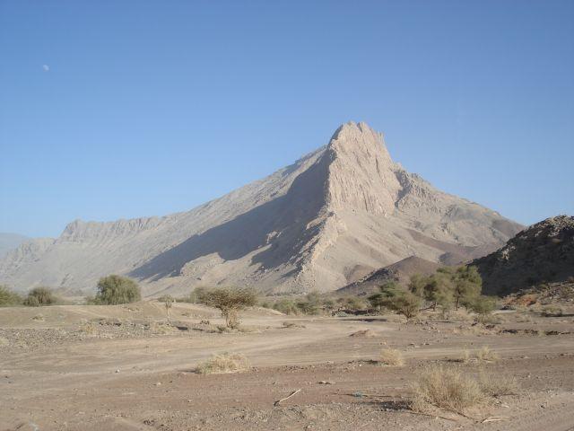 Zdjęcia: droga Al-Ayn - Bat, Ad Darzis, Jabal Misht, OMAN