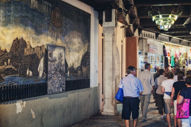 Zdjęcia: Mutrah Souk, Muhafazat Maskat, Główne wejście, OMAN