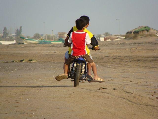 Zdjęcia: Muscat, Al Seeb, Popołudnie na plaży w Maskacie, OMAN