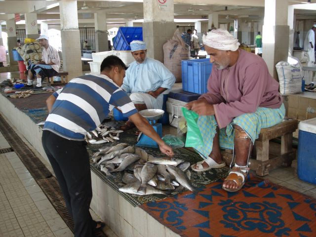 Zdjęcia: Muttrah, Muscat, Targ rybny, OMAN