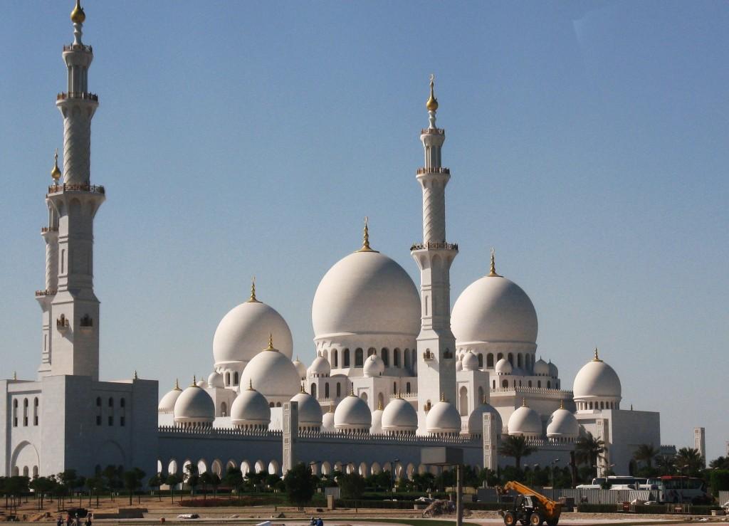 Zdjęcia: Meczet Szejka Zayeda, Abu Dabi, Wielki Meczet , ZJEDNOCZONE EMIRATY ARABSKIE