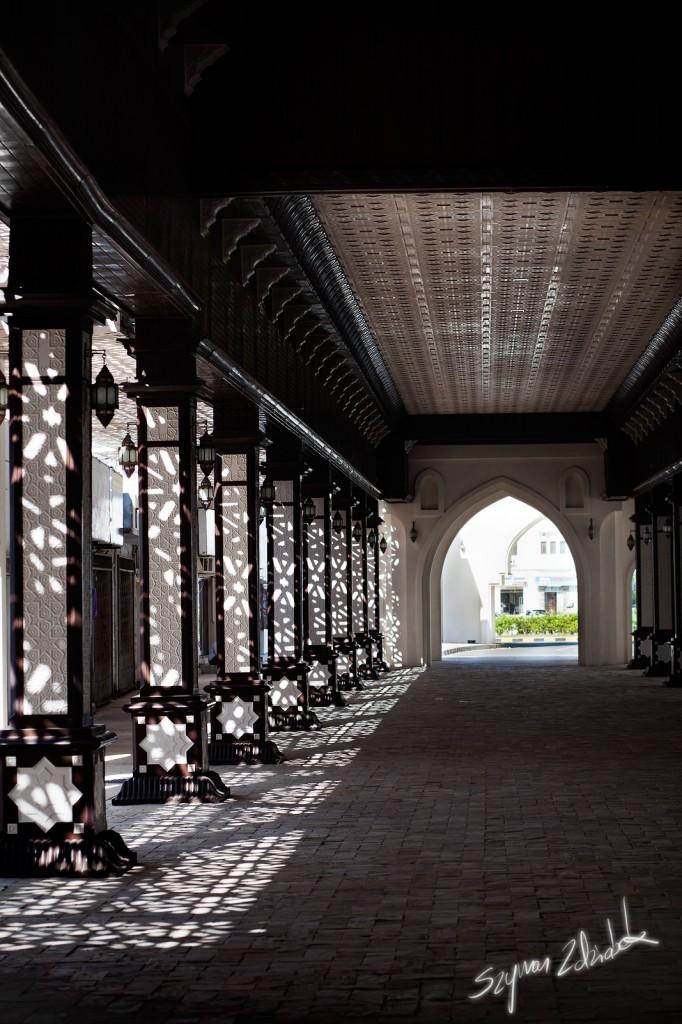 Zdjęcia: Sohar Souk, Sohar, Światło i cień, OMAN