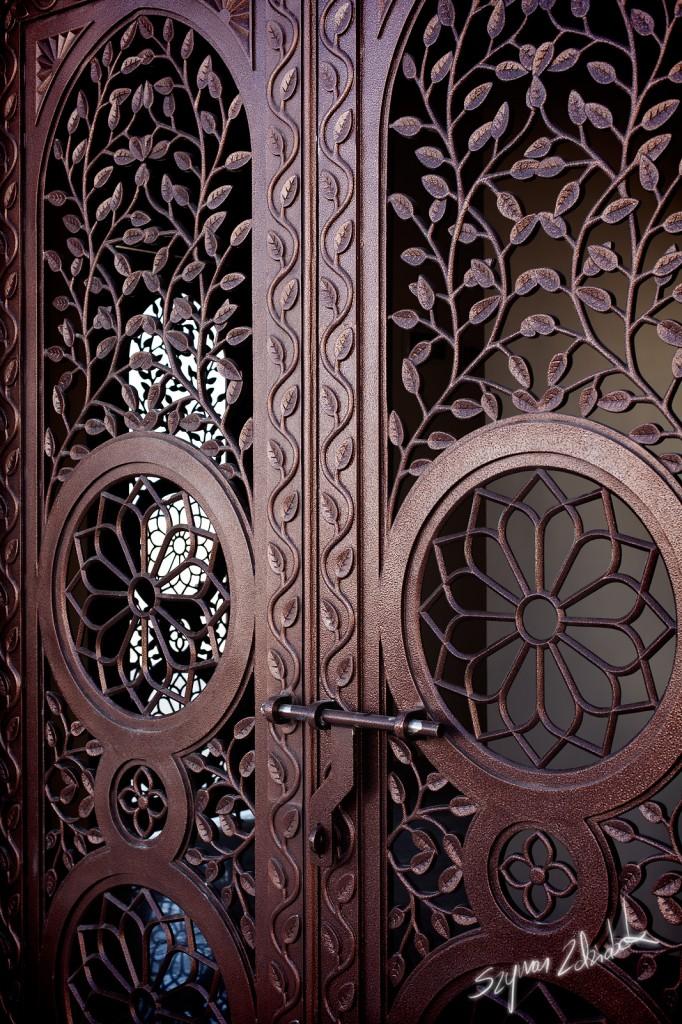 Zdjęcia: Sohar Souk, Sohar, Drzwi na targ, OMAN