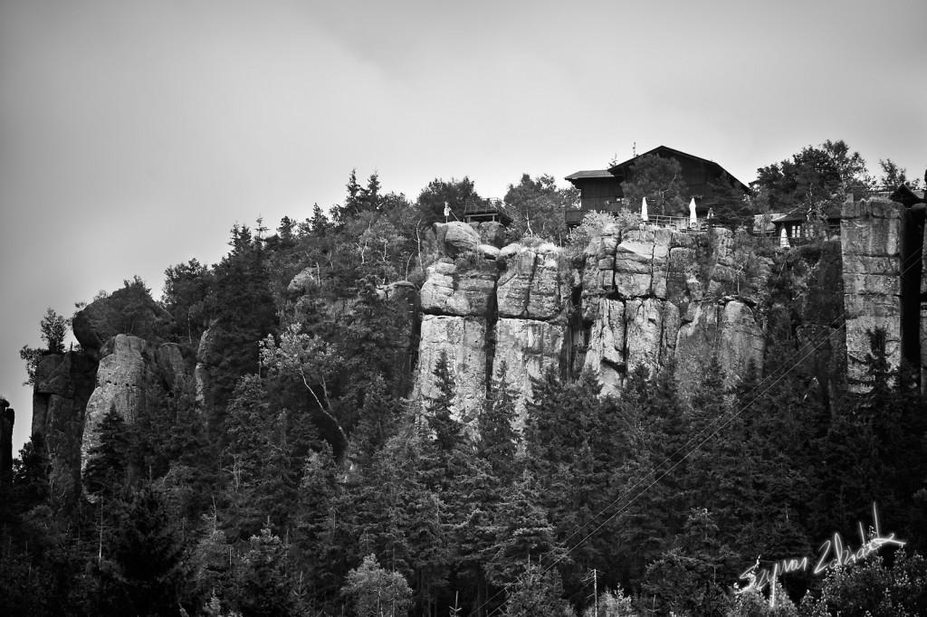 Zdjęcia: Szczeliniec Wielki, Góry Stołowe, Schronisko na Szczelińcu, POLSKA