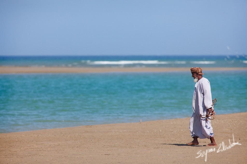 Zdjęcia: Yiti Beach, Yiti, Stary rybak, OMAN