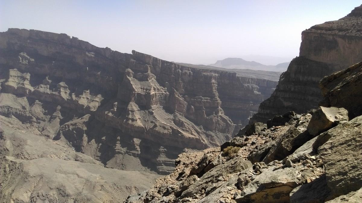 Zdjęcia: Wieli Kanion , góry Al Hadżar, Oman , OMAN