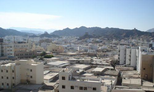 OMAN / Muscat / Muttrah / Panorama Muscatu
