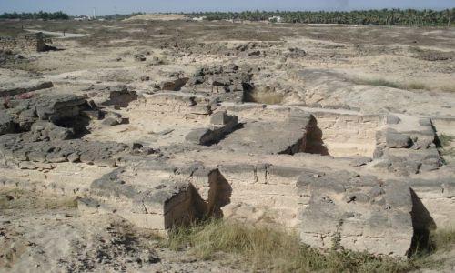 Zdjęcie OMAN / Dhofar / Salalah / Ruiny miasta