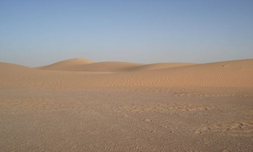 OMAN / Al Wusta / trasa Al Hayma - Nizwa / Pustynia (3)