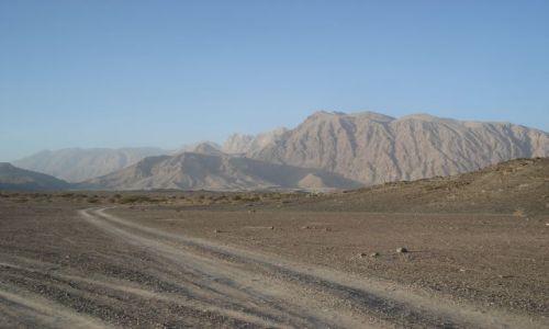 Zdjęcie OMAN / Ad Darzis / okolice Ibri / Krajobraz Jabal Shams