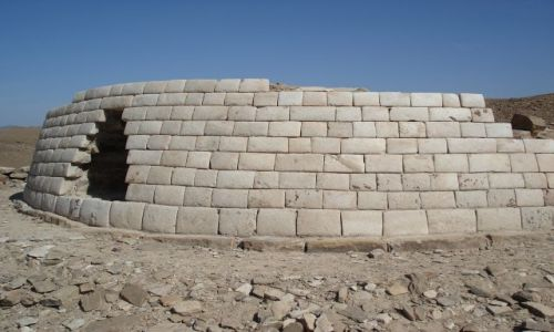 Zdjęcie OMAN / Ad Darzis / Bat / Samotny grobowiec