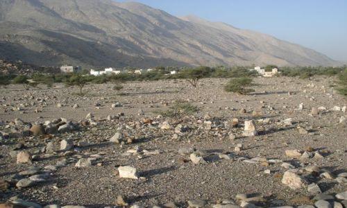 Zdjecie OMAN / Al Batinah / Al Khabib / Rustaq / Muzułmański cmentarz