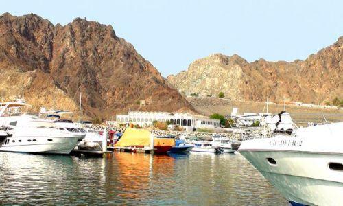 OMAN / Ocean Indyjski niedaleko Maskatu / Morze Arabskie / W krainie Sindbada żeglarza