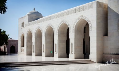 Zdjecie OMAN / Muscat / Muscat / Sultan Qaboos Grand Mosque