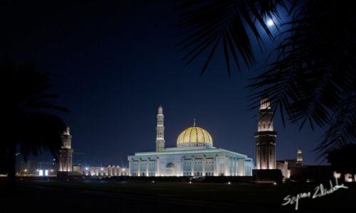 Zdjęcie OMAN / Muscat / Muscat / Sultan Qaboos Grand Mosque