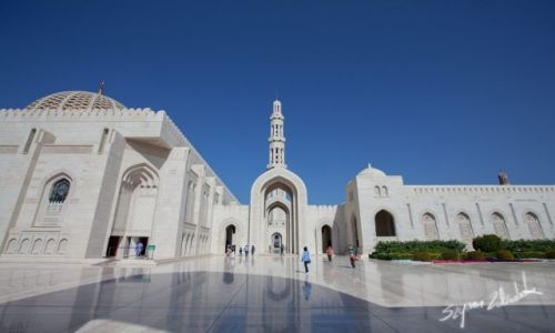 OMAN / Muscat / Muscat / Sultan Qaboos Grand Mosque