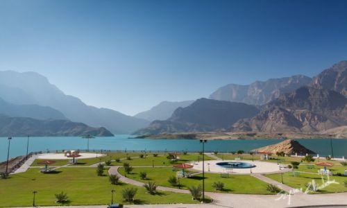 Zdjęcie OMAN / Okolice Qurayyat / Wadi Dayqah Dam / Wadi Dayqah Dam