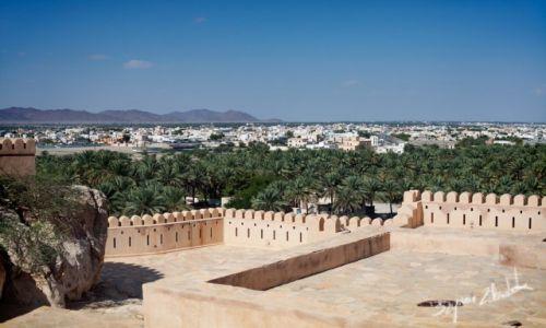 Zdjęcie OMAN / - / Nakhal Fort / Widok na Nakhal