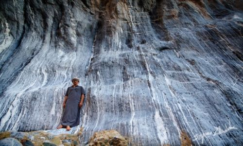 Zdjecie OMAN / - / Wadi Hawasinah / Wadi Hawasinah, Chains