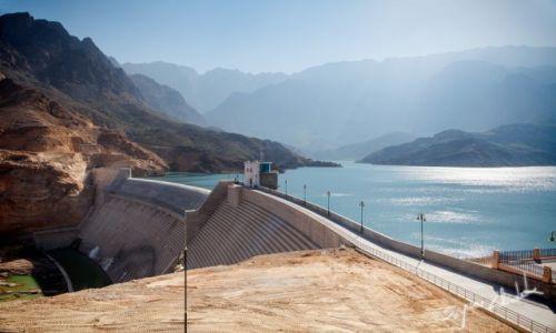 Zdjęcie OMAN / Qurayyat / Wadi Dayqah Dam / Wadi Dayqah Dam