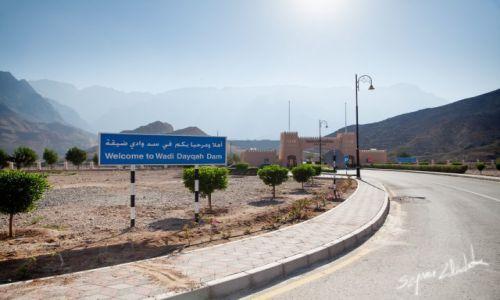 Zdjęcie OMAN / Qurayyat / Wadi Dayqah Dam / Wjazd nad tamę