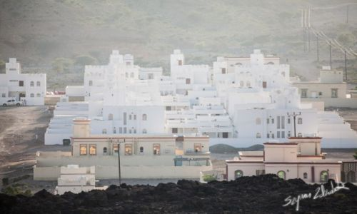 Zdjecie OMAN / Qurayyat / Wadi Dayqah / Miasteczko