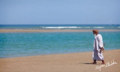 Zdjęcie OMAN / Yiti / Yiti Beach / Stary rybak