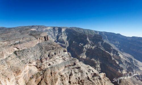 Zdjęcie OMAN / Western Hajar / Jabal Shams / Kanion