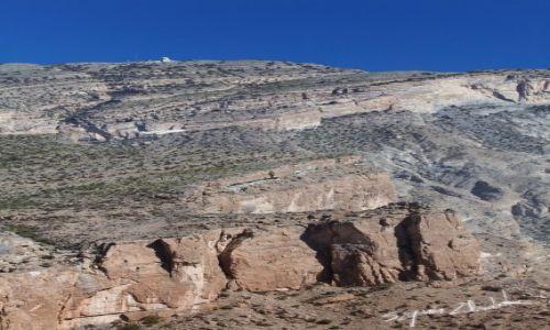 Zdjęcie OMAN / Western Hajar / Jabal Shams / Szczyt