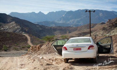 Zdjecie OMAN / - / Wadi Hawasinah / Ostatni podjazd