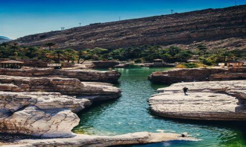 Zdjęcie OMAN / - / Wadi Bani Khalid / Popływać