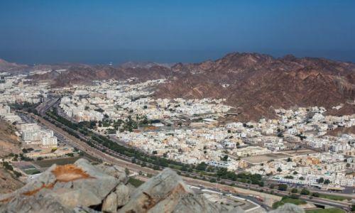 Zdjęcie OMAN / Muscat Governorate / Muscat / Widok na Ruwi