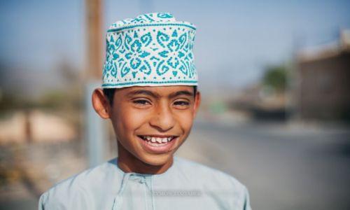 Zdjęcie OMAN / - / Misfat Al Abriyeen / Uśmiech