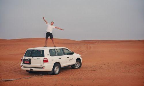 Zdjecie OMAN / Ash Sharqiyah Governorate / Wahiba Sands / Pośrodku niczeg