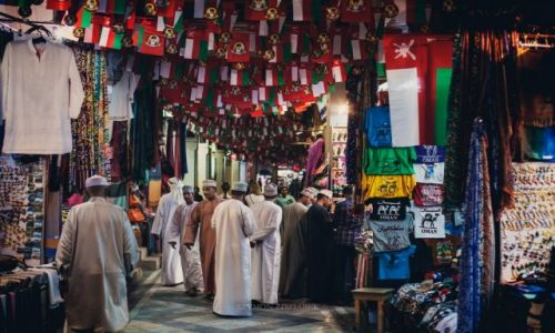 Zdjęcie OMAN / Muscat Governorate / Muttrah Souk / Handel