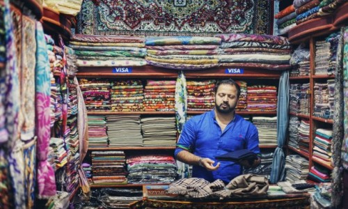 Zdjęcie OMAN / Muhafazat Maskat / Mutrah Souk / Visa
