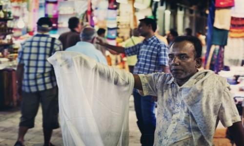 Zdjęcie OMAN / Muhafazat Maskat / Mutrah Souk / Szmatki