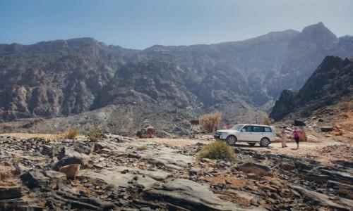 Zdjecie OMAN / Al Hajar Mountains / Bilad Sayt / Droga do