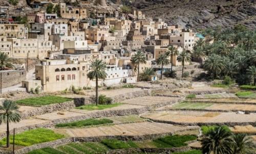 OMAN / Al Hajar Mountains / Bilad Sayt / Górska wioska