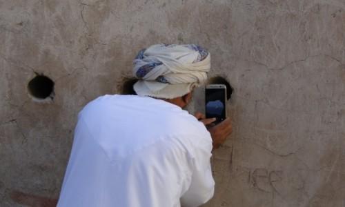 Zdjecie OMAN / Oman / Muscat / znak czasów
