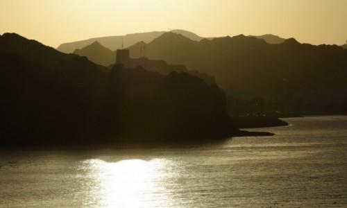 Zdjęcie OMAN / Muscat / Muttrah / Al MIrani Fort nienachalnie