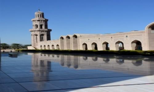 Zdjęcie OMAN / Muscat / Wielki Meczet Sułtana Qaboosa / Dostojnie