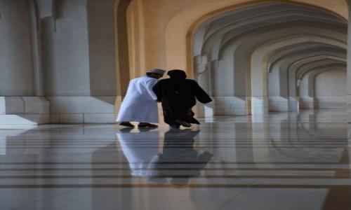 Zdjecie OMAN / Muscat / Pałac Sułtana Qaboosa / Tacy sami