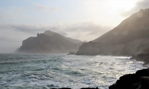 OMAN / Dhofar / Mughsayl / Widok na ocean