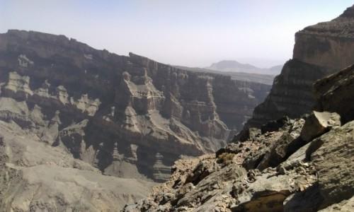 Zdjecie OMAN / góry Al Hadżar / Wieli Kanion  / Oman
