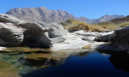 Zdjecie OMAN / góry  / Little Snake Canyon  / Oman