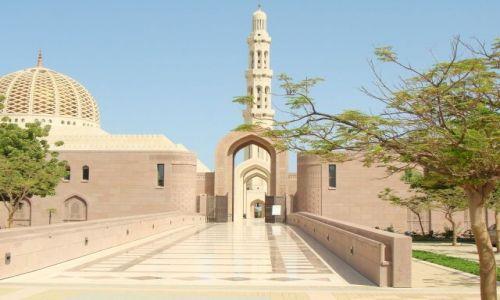 Zdjecie OMAN / brak / Muscat / Grand mosque w