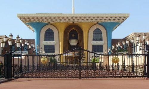 Zdjecie OMAN / brak / Muscat / Pałac Al Alam w Mutrah