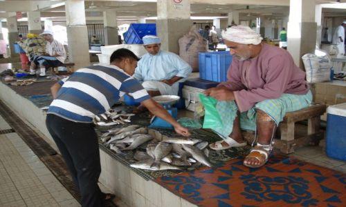 OMAN / Muscat / Muttrah / Targ rybny