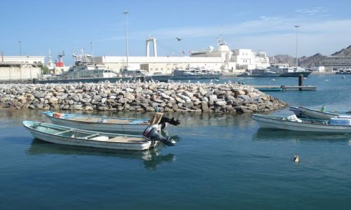 OMAN / Muscat / Muttrah / Port